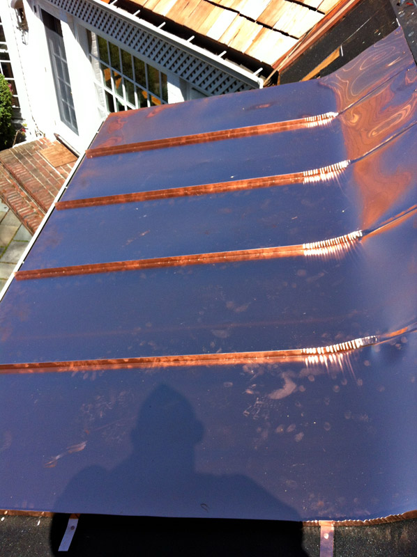 Metal roofing project gallery lgc roofing lawrenceville nj for Standing seam copper